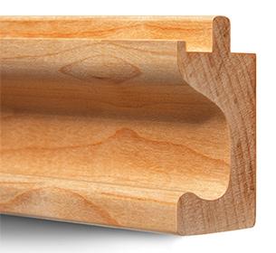 C Profile Hardwood Finger Pulls ...