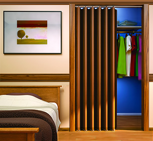 Woodfold Series 140 Accordion Folding Doors Closet Door